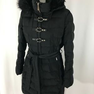 Ivanka Trump Black Puffer Coat